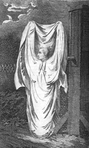 Depiction of the Hammersmith Ghost (Wikipedia)