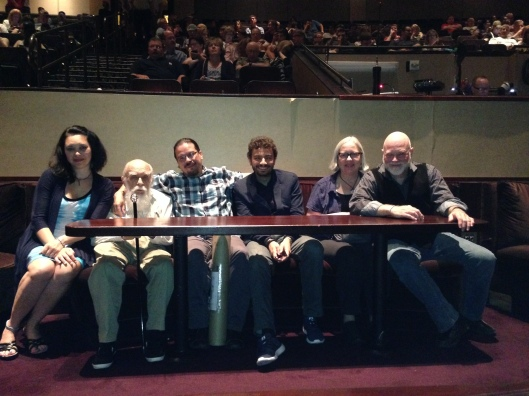 VIP seating at the Penn & Teller show.