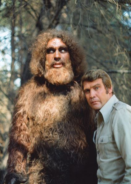 Bigfoot (Andre the Giant) and Lee Majors as the Six Million Dollar Man. The storyline ended with the two becoming friends.
